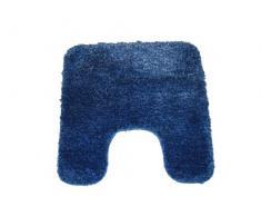 Desconocido Unknown 10.1278 - Alfombra de baño, poliéster, 55 x 55 cm, color beige y azul