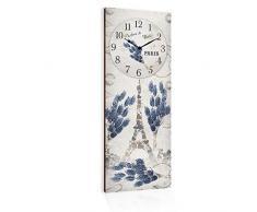 Lupia Reloj de Pared Clockart Parfumes Paris, 30 x 80 cm