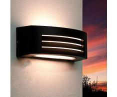 Lámpara de Pared de Exterior de Diseño Moderno Flantern / Iluminación Exterior / Negro / IP44