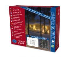 Konstsmide 4614-103 - Sistema de extensión de iluminación LED de alta tecnología (100 diodos de blanco cálido, 6 W, transparente)