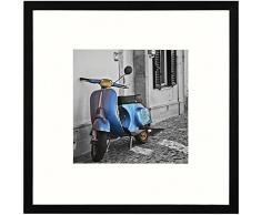Henzo Umbria 20x20 Frame Schwarz Marco de Fotos, Madera, Negro, 20 x 20 x 1.4 cm