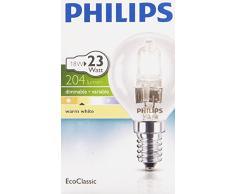 Philips EcoClassic - Bombilla halógena de bajo consumo (230 V, 80 mm)