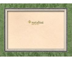 Natalini MIKY VERDINO 10X15 Marco de Fotos con Soporte para Mesa, Tulipwood, Verde, 10 X 15 X 1,5