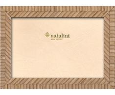 Natalini BIANTE Rovere 13X18 Marco de Fotos con Soporte para Mesa, Tulipwood, Roble, 13 X 18 X 1,5