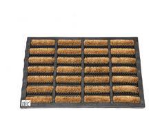 EHC - Felpudo (40 x 60 cm, fibra de coco y goma)
