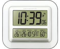 TechnoTrade WS-8006, Blanco, 1x AA/Mignon/LR 06, 245 mm, 280 mm, 32 mm - Reloj de pared