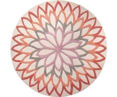 ESPRIT Alfombra, Multicolor, 100 x 100 cm