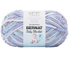 Bernat Manta para bebé, Posey Púrpura, 300g