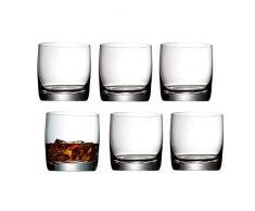 WMF Easy Juego 6 Vasos para Whisky, Vidrio