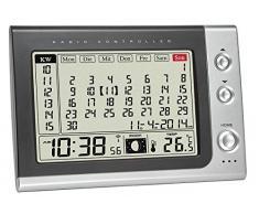 TFA Dostmann 60.2529.54 Reloj Despertador con Calendario