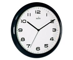 ACCTIM AYLESBURY 92/302 - Reloj analógico de pared negro