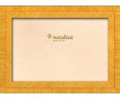 Natalini BIANTE Giallo 13X18 Marco de Fotos con Soporte para Mesa, Tulipwood, Amarillo, 13 X 18 X 1,5