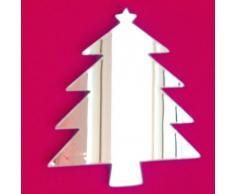 Super Cool Creations Espejo para árbol de Navidad, 50 x 44 cm