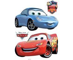 AG Diseño DKS 1088Disney Cars, Pegatinas de Pared, 30x 30cm–1Notebook, Papel, Colorful, 30x 30cm