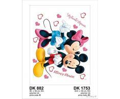 Pegatinas Decoración Mickey & Minnie 45 x 65