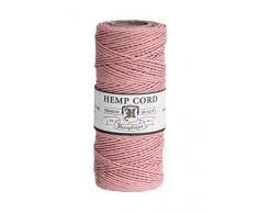 Hemptique HS20C0 - PP - Cordel para jardinería, Color Rosa