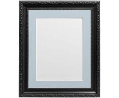 Frames by Post Marco de Fotos, Estilo Shabby Chic, plástico, Negro, 8 x 8 Image Size 5 x 5 Inches