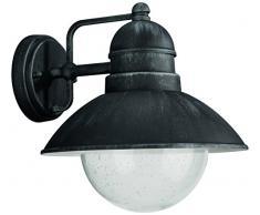 Philips 172375410 - Linterna de pared para iluminación exterior, 1 x 60, sin bombillas
