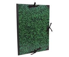 Clairefontaine Annonay Art Carpeta con Lazos, Verde, 75 x 105 cm