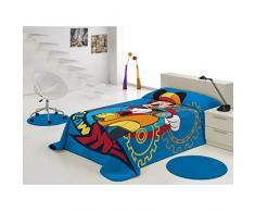 Export Trading Disney - Manta con diseño Mickey & Friends, 230 x 160 cm