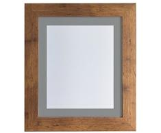 Frames by Post Marco de Fotos, Madera, Vintage Wood, 30 x 24 Image Size 24 x 16 Inches