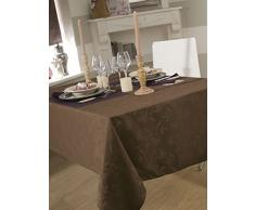Mantel damassee ombra Taupe 150 x 300