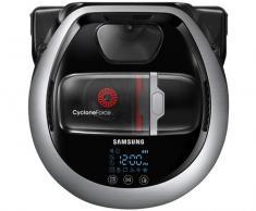 Samsung VR20R7250WC aspiradora robotizada Sin Bolsa Black, Plata 0,3 L - Aspiradoras robotizadas (Sin Bolsa, Black, Plata, Forma en D, LED, 0,3 L, 78 dB)
