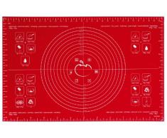 mastrad F45210 - Bandeja para Horno (tamaño Grande), Color Rojo