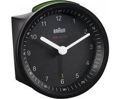 Braun BNC 007 - relojes de mesa (8 cm, 5,6 cm, 8 cm, Analógico, AA, 1.5V, LR6) Negro
