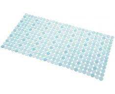 InterDesign Orbz - Tapete para baño, Color Azul