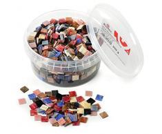RAYHER HOBBY 14790999acrílico Mezcla de mosaicos, mármol, acrílico, Multicolor, 1.33x 1.33x 0,64cm