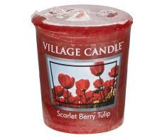 Village Candle 106102190 vela, rojo