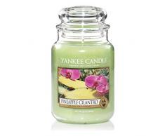 Yankee Candle vela en tarro, Cilantro llew mejia, amarillo, large