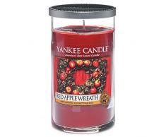 Yankee Candle cm vela en tarro, rojo Apple, mediano