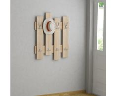 Best Seller Living Perchero De Pared Onda Natural