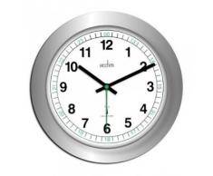 Acctim 93/723SRC Milan - Reloj de pared, color plateado