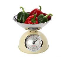 Youdoit Balanza de Cocina Estilo Retro 5 kg - Beige