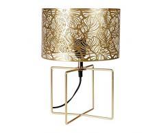 Ostaria Lámpara mesa, Dorado