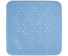 Kleine Wolke 4325733002 Calypso - Alfombrilla antideslizante para ducha (55 x 55 cm), color azul