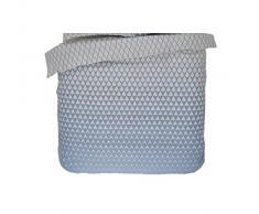 Esprit 100059-100FR Mina-008-Funda de edredón satén de algodón, 200 x 140 cm, color azul