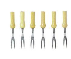 Chef Aid - Tenedores para mazorcas de maíz (6 unidades)