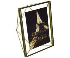 Umbra 313016-221 - Marco de fotos, color dorado, 15.2x10.2 cm