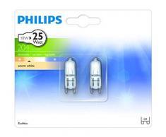 Philips Halogen Bombilla de cápsula halógena 8718291664543 - Lámpara (18 W, Cápsula, G9, 204 lm, Blanco cálido, 2000 h)