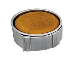 PME – Cinturón para moldes de repostería, color gris, tela, Gris, 56 x 3