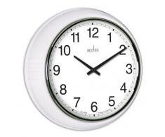 Acctim 27372 Lorene Reloj de pared, color blanco
