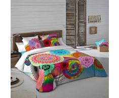 NATURALS Juego De Funda Nórdica Indhira Multicolor Cama 90 (150 x 220 cm + 45 x 110 cm)
