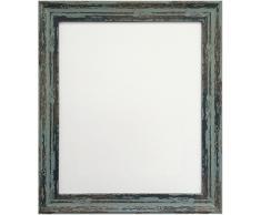 Frames by Post Industrial 45 x 30 cm Marco de Fotos, Envejecido Azul