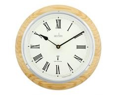 Acctim 74431 Durham - Reloj de pared (madera de roble)