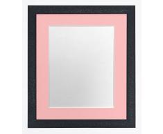 FRAMES BY POST Glitz - Marco de Fotos (Cristal, plástico, 40 x 50 cm), Color Rosa
