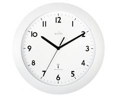 Acctim 74132 Cadiz - Reloj de pared, color blanco